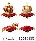 クラウン 冠 王冠のイラスト 42050863