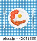 ブレックファースト 朝ごはん 朝食のイラスト 42051665