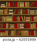 ブック 本 棚のイラスト 42055999