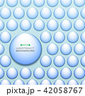 Abstract of gradient aqua color circle pattern  42058767