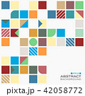 Abstract of colorful with copy space pattern  42058772