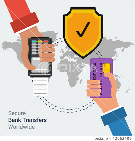 Secure bank transfers worldwide 42062409