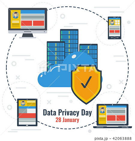 Concept of Data Privacy Day and Secure Storage 42063888