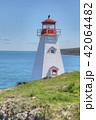 Vertical of Boar's Head Lighthouse in Nova Scotia 42064482