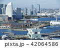 横浜港 港 風景の写真 42064586