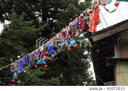 新潟県糸魚川市根知の七夕飾り 42072015