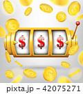 スロット マシーン カジノのイラスト 42075271
