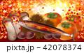 さんま 秋 紅葉 背景 42078374