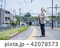 シニア 電車 旅行 アクティブシニア 撮影協力 京王電鉄株式会社 42078573