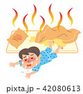 熱帯夜 子供 イラスト 42080613