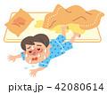 熱帯夜 子供 イラスト 42080614