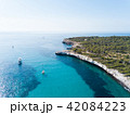ヨット ボート 沿岸の写真 42084223