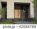 一戸建て住宅・玄関 42084789
