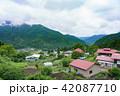 群馬県 集落(6月) 42087710