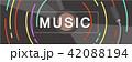 ミュージック 譜面 音楽のイラスト 42088194