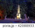 The place of the duel of Lermontov at night. 42088933