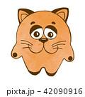 ねこ ネコ 猫のイラスト 42090916