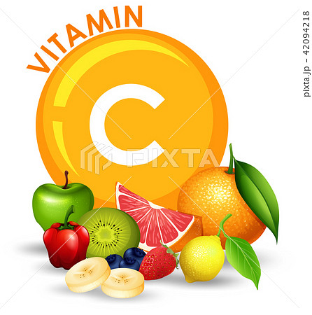A Set of High Vitamin C Fruit 42094218