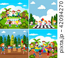 Set of children playing 42094270