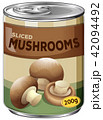 A Can of Sliced Mushrooms 42094492