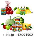 くだもの フルーツ 実のイラスト 42094502