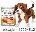 わんこ 犬 ベクタのイラスト 42094512