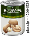A Can of Champignons Mushroom 42094526