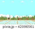 農村 田んぼ 42096561
