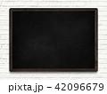 背景-黒板 42096679