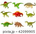 マンガ 漫画 恐竜のイラスト 42099905