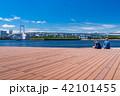 《東京都》お台場・都市風景 42101455