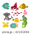 marine life vector collection design 42101694