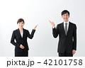 会社員 ミドル 男女の写真 42101758