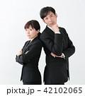 同僚 ミドル ビジネスマンの写真 42102065