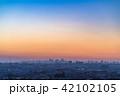 《東京都》東京都の夜明け・新しい一日 42102105