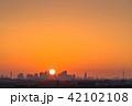 《東京都》東京都の夜明け・新しい一日 42102108