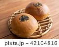 あんぱん パン 食べ物の写真 42104816