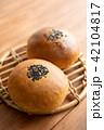 あんぱん パン 食べ物の写真 42104817