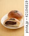 あんぱん パン 食べ物の写真 42104819