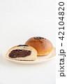 あんぱん パン 食べ物の写真 42104820