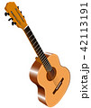Color image of acoustic guitar 42113191