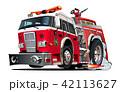 消防車 ベクトル 四輪車のイラスト 42113627