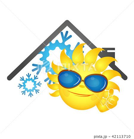 Sun fun and snowflake air conditioner 42113710