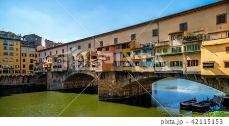 Ponte Vecchio Bridge in Florence - Italy 42115153