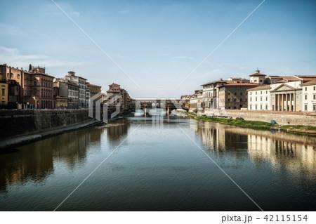 Ponte Vecchio Bridge in Florence - Italy 42115154