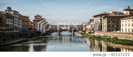 Ponte Vecchio Bridge in Florence - Italy 42115155
