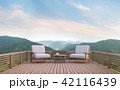 バルコニー デッキ 家具のイラスト 42116439