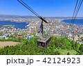 函館山 ロープウェイ 眺望の写真 42124923