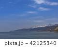 知床連山 オホーツク海 山の写真 42125340