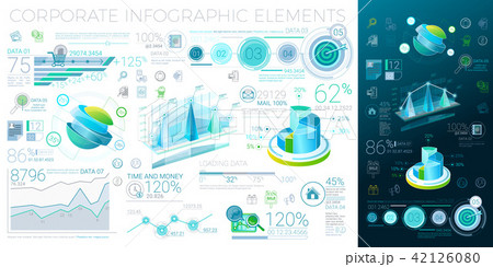 Corporate Infographic Elements 42126080